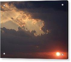 Reach For The Sky 5 Acrylic Print by Mike McGlothlen