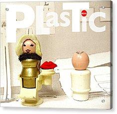 Real Plastic Acrylic Print by Ricky Sencion