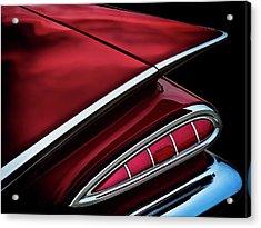 Red Tail Impala Vintage '59 Acrylic Print by Douglas Pittman