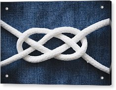 Reef Knot Acrylic Print by Jamie Grill