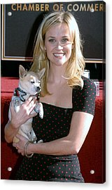 Reese Witherspoon At The Induction Acrylic Print by Everett