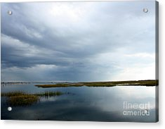Reflections Acrylic Print by Gail Behrik