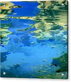 Reflections On Rome Acrylic Print by Roberto Alamino