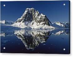 Reflections With Ice Acrylic Print by Antarctica