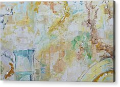 Remains Acrylic Print by Ulla Heckel