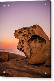 Remarkable Rocks Acrylic Print by Ryan  Carter