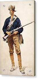 Remington: Soldier, 1901 Acrylic Print by Granger