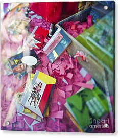 Retail Display Acrylic Print by Eddy Joaquim