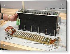 Return To Flight Sensor Tests Acrylic Print by NASA / Kennedy Space Center