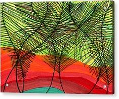 Reunion Acrylic Print by Lesa Weller