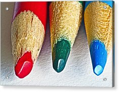 RGB Acrylic Print by Bill Owen
