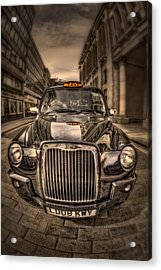 Ride With Me Acrylic Print by Evelina Kremsdorf