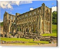 Rievaulx Abbey Ruins Acrylic Print by Trevor Kersley