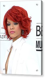 Rihanna At Arrivals For 2011 Billboard Acrylic Print by Everett