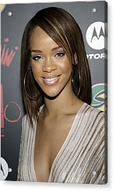 Rihanna At Arrivals For Jay-z Acrylic Print by Everett