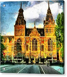 Rijksmuseum Acrylic Print by Anthony Caruso
