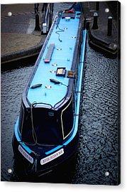 Urban Acrylic Print featuring the photograph River Duddon No 70 by Roberto Alamino