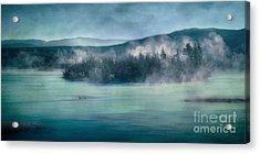 River Song Acrylic Print by Priska Wettstein