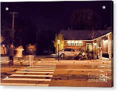 Roberto's  Acrylic Print by HD Connelly