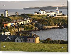 Roches Point Lighthouse In Cork Harbour Acrylic Print by Trish Punch