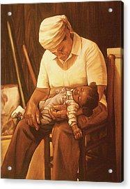 Rock-a-bye Grandma I Acrylic Print by Curtis James