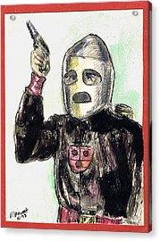 Rocket Man Acrylic Print by Mel Thompson
