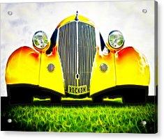 Rockon Rod Acrylic Print by Phil 'motography' Clark