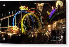 Rollercoaster At The Dom Acrylic Print by Rob Hawkins