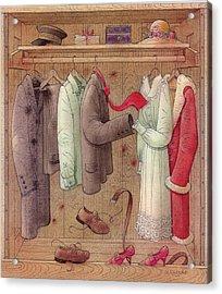 Romance In The Cupboard Acrylic Print by Kestutis Kasparavicius