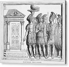 Rome: Praetorian Guards Acrylic Print by Granger