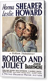 Romeo And Juliet, Leslie Howard, Norma Acrylic Print by Everett