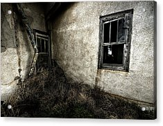 Rough Exterior Acrylic Print by Shane Linke