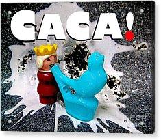 Royal Caca Acrylic Print by Ricky Sencion