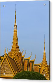 Royal Palace Roof. Acrylic Print by David Freuthal