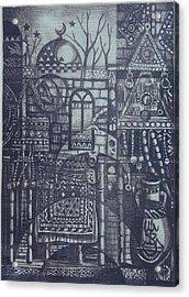 Rural Memory Acrylic Print by Ousama Lazkani