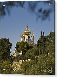 Russian Orthodox Church Acrylic Print by Noam Armonn