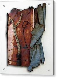Rustic Elegance Acrylic Print by Snake Jagger