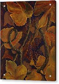 Rustic Harvest Acrylic Print by Deborah Ellingwood