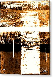 Rustic Modern Acrylic Print by Marsha Heiken