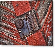 Rusty Dusty And Musty Acrylic Print by Kathy Clark