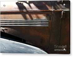Rusty Old 1939 Chevrolet Master 85 . 5d16199 Acrylic Print by Wingsdomain Art and Photography