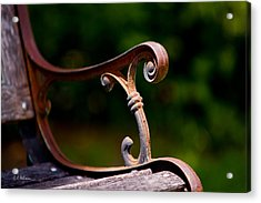 Rusty Rest Acrylic Print by Christopher Holmes