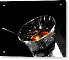 Rye And Coke Please Acrylic Print by Jerry Cordeiro
