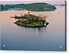 Ryssmasterna Lighthouse Sweden Acrylic Print by Marianne Campolongo
