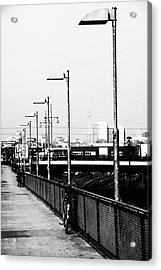 S-bahn To Berlin Acrylic Print by Falko Follert