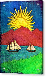 Safe Harbor Acrylic Print by Bill Cannon