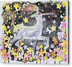 Sagittarius Acrylic Print by Glenn Boyles