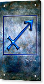 Sagittarius  Acrylic Print by Mauro Celotti