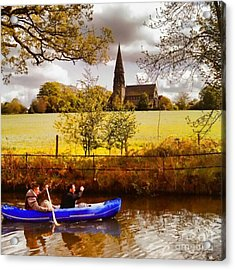 Sail Away Acrylic Print by Isabella Abbie Shores