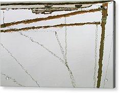 Sailboat Reflect Acrylic Print by Karol Livote